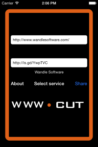 www.cut 3.3 home screen