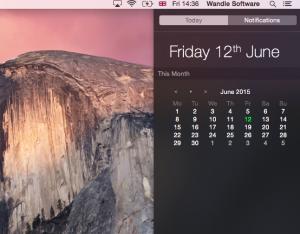Quick Calendar